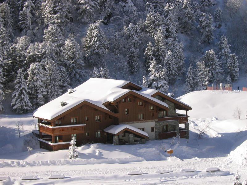 Location au ski Résidence Alpages D - Méribel-Mottaret - Extérieur hiver