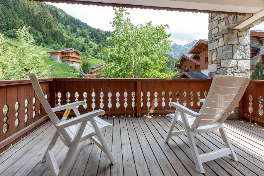 Ski verhuur Appartement 4 kamers 8 personen (002) - Résidence Alpages D - Méribel-Mottaret