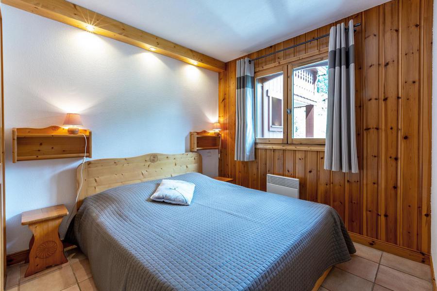 Ski verhuur Appartement 4 kamers 8 personen (002) - Résidence Alpages D - Méribel-Mottaret - 2 persoons bed