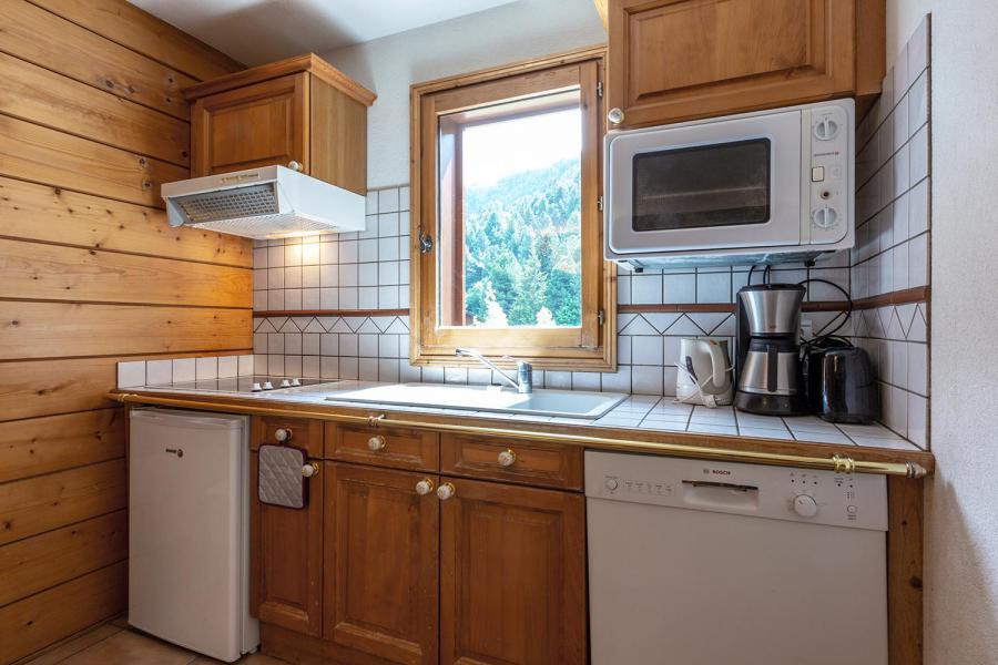 Location au ski Appartement 4 pièces 7 personnes (003) - Résidence Alpages D - Méribel-Mottaret - Kitchenette