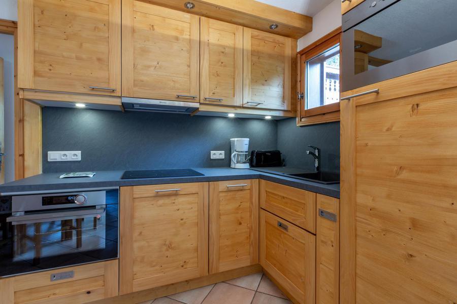 Location au ski Appartement 4 pièces 8 personnes (002) - Résidence Alpages D - Méribel-Mottaret - Kitchenette
