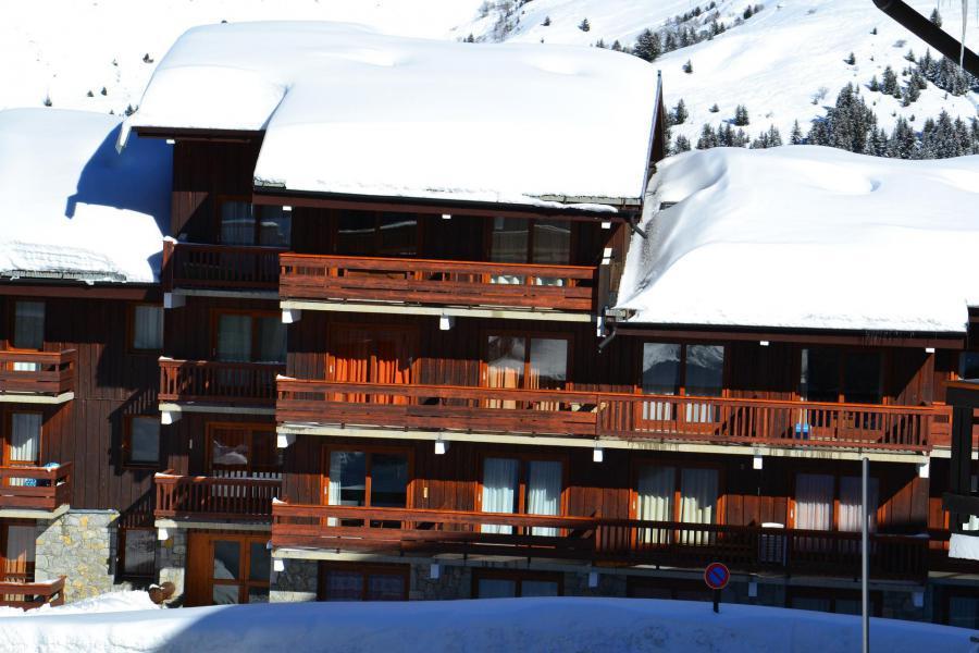 Location au ski Residence Alpinea - Méribel-Mottaret - Extérieur hiver