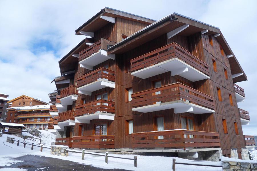 Location au ski Résidence Alpinéa - Méribel-Mottaret - Extérieur hiver