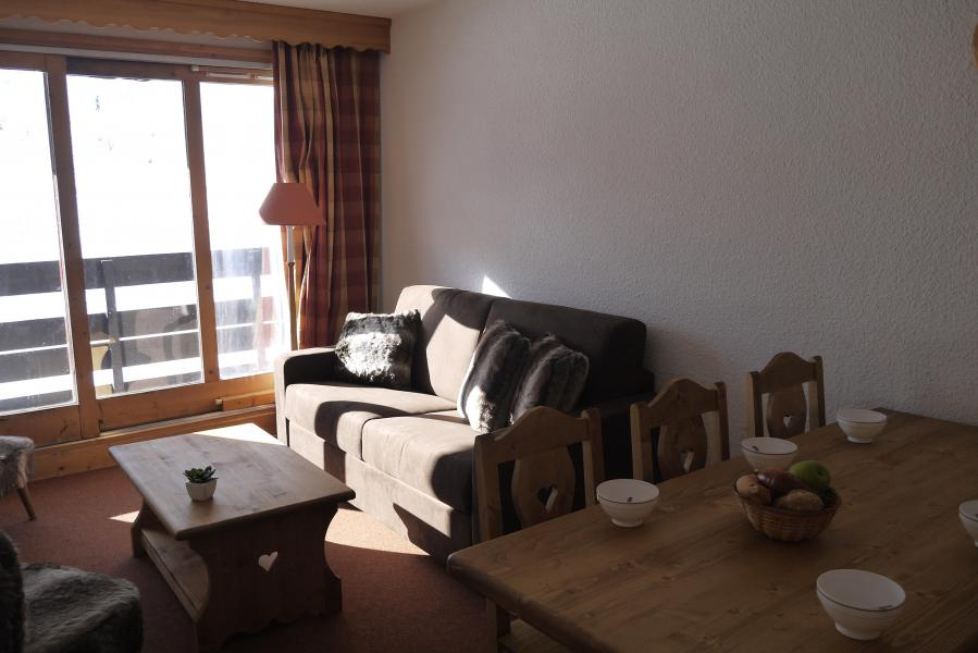 Ski verhuur Appartement 2 kamers 5 personen (064) - Résidence Arpasson - Méribel-Mottaret - Woonkamer