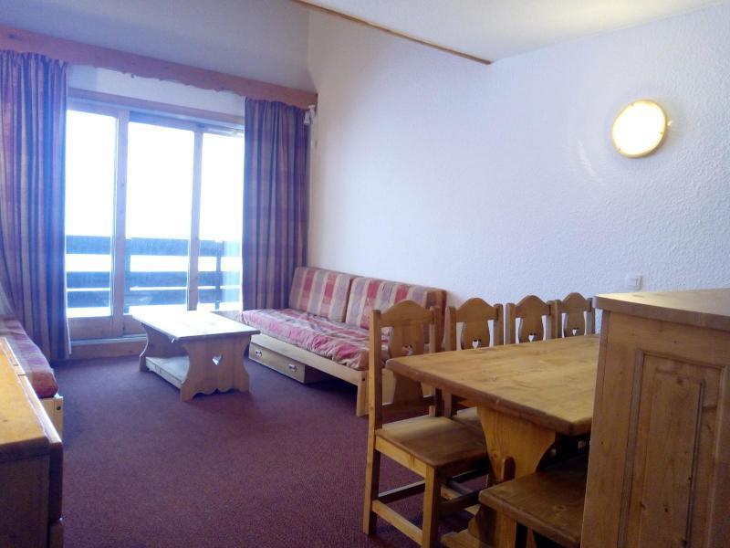 Ski verhuur Appartement 3 kamers 8 personen (073) - Résidence Arpasson - Méribel-Mottaret - Woonkamer