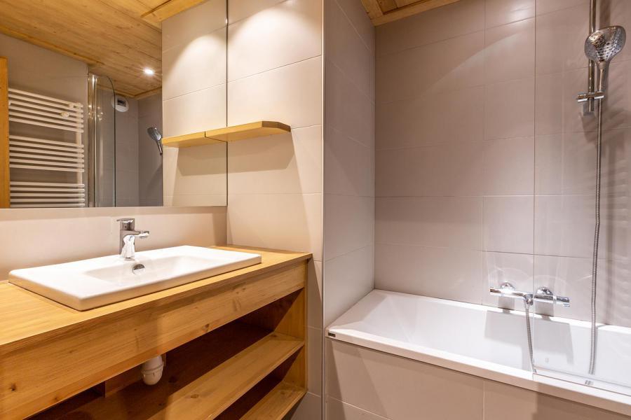 Location au ski Appartement 3 pièces 7 personnes (022) - Résidence Arpasson - Méribel-Mottaret - Baignoire