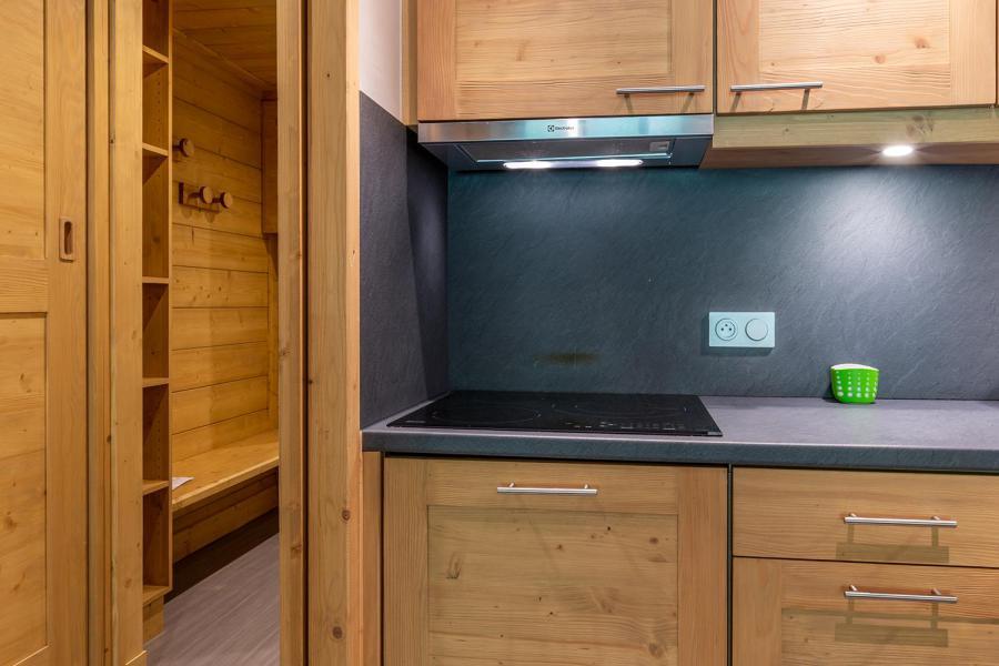 Location au ski Appartement 3 pièces 7 personnes (022) - Résidence Arpasson - Méribel-Mottaret - Kitchenette