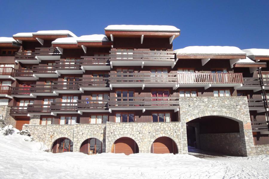 Ski verhuur Résidence Arpasson II - Méribel-Mottaret - Buiten winter
