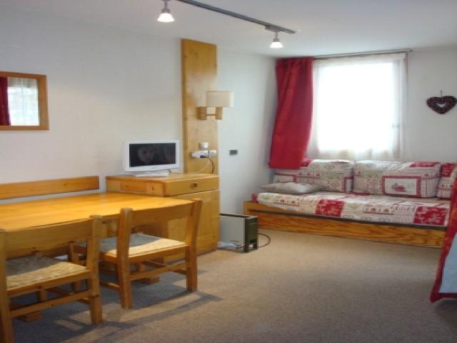 Location au ski Studio 4 personnes (013) - Residence Arpasson - Méribel-Mottaret - Coin repas