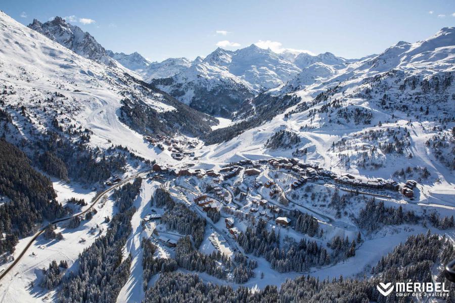 Vacances en montagne Résidence Asphodèles - Méribel-Mottaret - Extérieur hiver