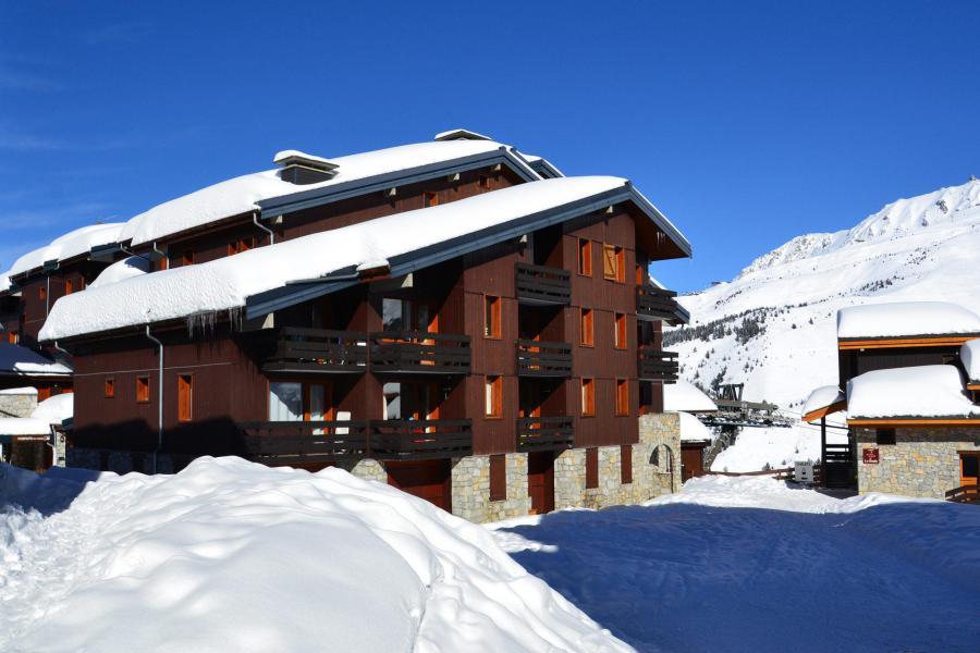 Vacances en montagne Résidence Boulevard - Méribel-Mottaret - Extérieur hiver
