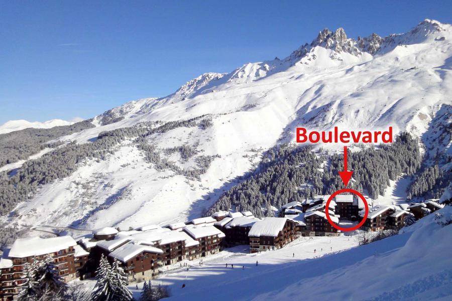 Location au ski Résidence Boulevard - Méribel-Mottaret