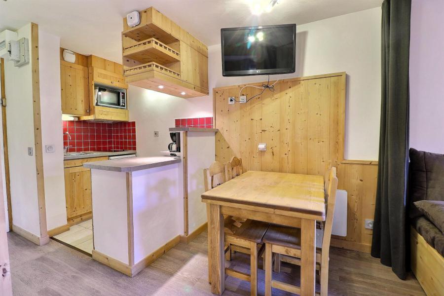 Ski verhuur Studio verdeelbaar 4 personen (E08) - Résidence Boulevard - Méribel-Mottaret