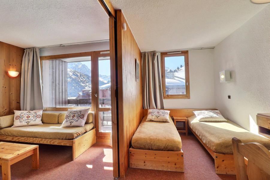 Ski verhuur Appartement 1 kamers 4 personen (B07) - Résidence Candide - Méribel-Mottaret - Woonkamer