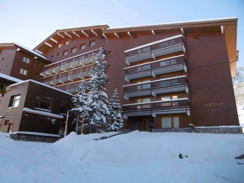 Vacances en montagne Appartement 2 pièces 4 personnes (031) - Résidence Cembros - Méribel-Mottaret - Extérieur hiver