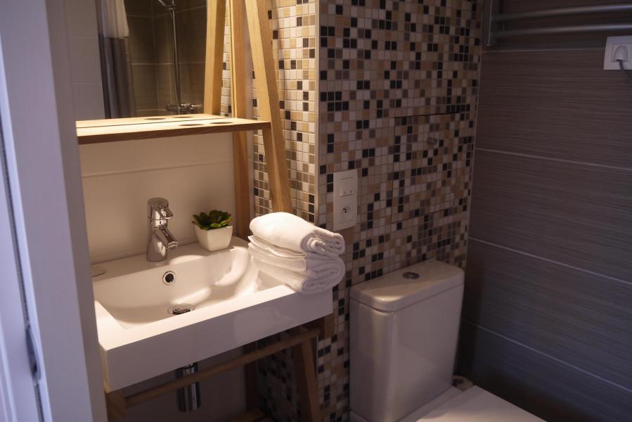 Location au ski Appartement 2 pièces 4 personnes (031) - Résidence Cembros - Méribel-Mottaret - Salle de bains
