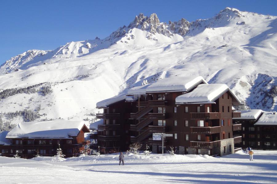 Location au ski Résidence Cimes I - Méribel-Mottaret - Extérieur hiver