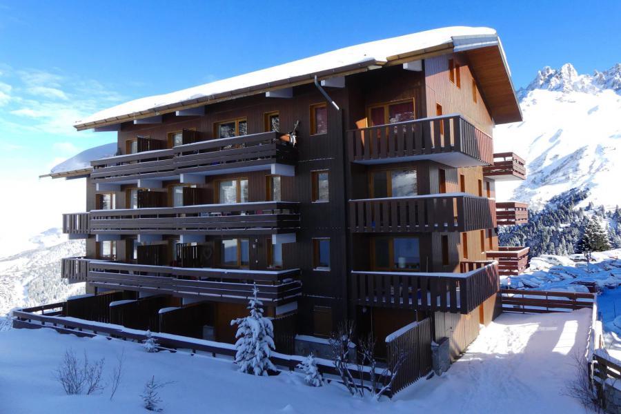 Vacances en montagne Résidence Cimes II - Méribel-Mottaret - Extérieur hiver