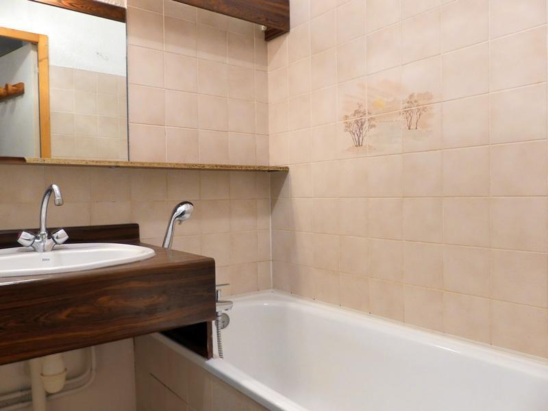 Location au ski Appartement 2 pièces 4 personnes (017) - Résidence Cimes II - Méribel-Mottaret - Salle de bains
