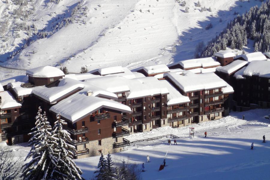 Vacaciones en montaña Résidence Creux de l'Ours Bleu - Méribel-Mottaret - Invierno