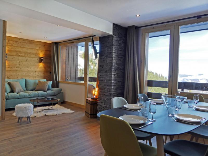 Location au ski Appartement 4 pièces cabine 6 personnes (9091) - Résidence Creux de l'Ours Bleu - Méribel-Mottaret