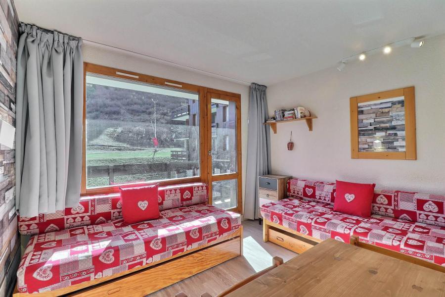 Ski verhuur Appartement 2 kamers 4 personen (111) - Résidence Creux de l'Ours Bleu - Méribel-Mottaret