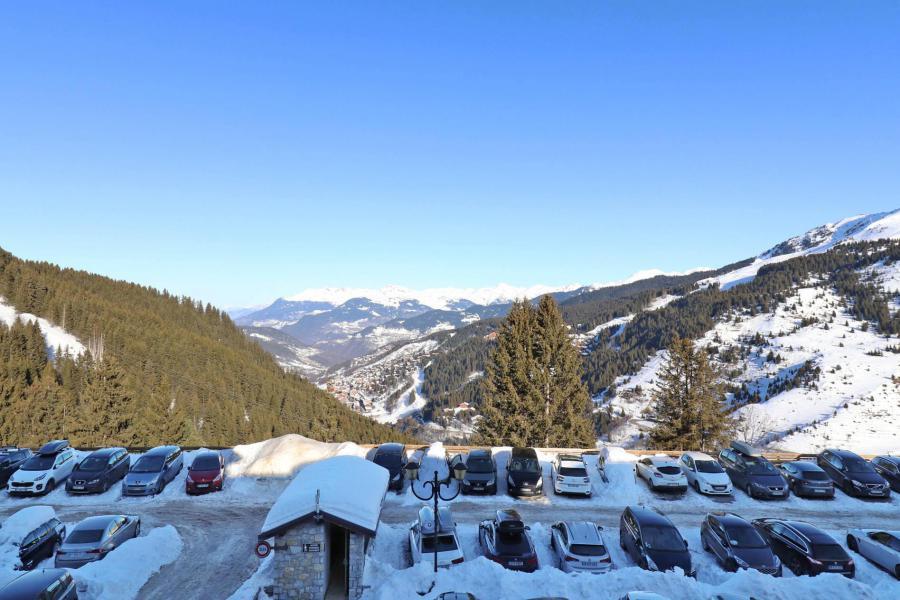 Location au ski Appartement 2 pièces 4 personnes (084) - Résidence Creux de l'Ours Bleu - Méribel-Mottaret - Chambre