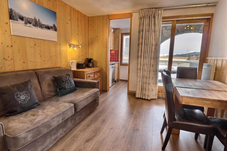 Ski verhuur Appartement 2 kamers 4 personen (A16) - Résidence Creux de l'Ours Rouge - Méribel-Mottaret - Appartementen