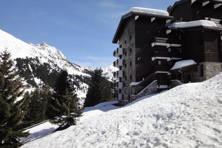 Vacances en montagne Studio 2 personnes (004) - Résidence Erines - Méribel-Mottaret - Extérieur hiver