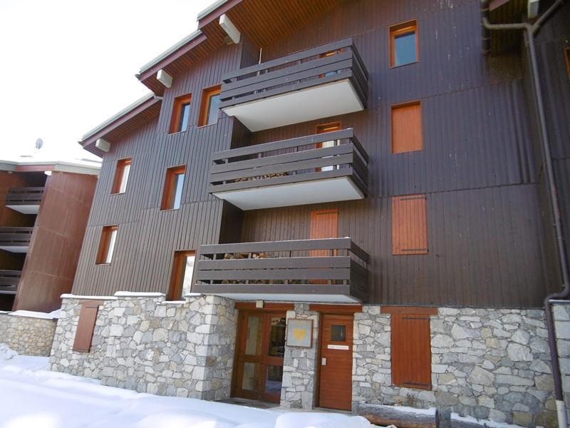 Ski verhuur Appartement 4 kamers 8 personen (018) - Résidence Gébroulaz - Méribel-Mottaret - Buiten winter