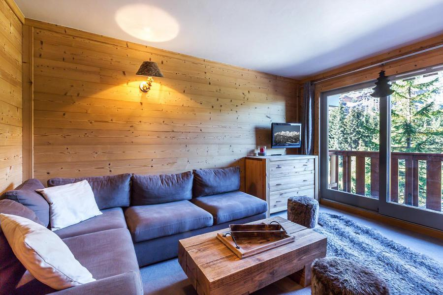 Location au ski Appartement 2 pièces 6 personnes (A07) - Résidence Grand Dou - Méribel-Mottaret - Séjour