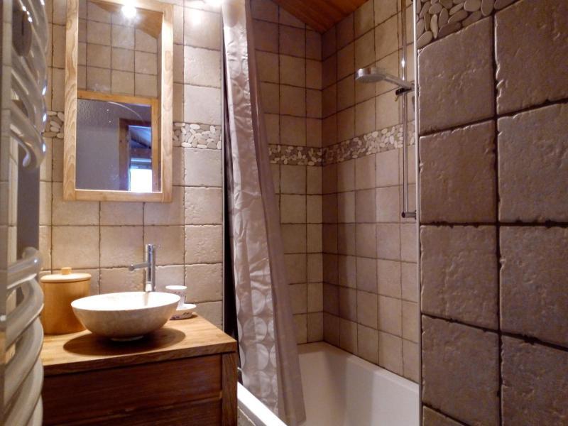 Ski verhuur Appartement 3 kamers 6 personen (A25) - Résidence Grand Dou - Méribel-Mottaret - Badkamer