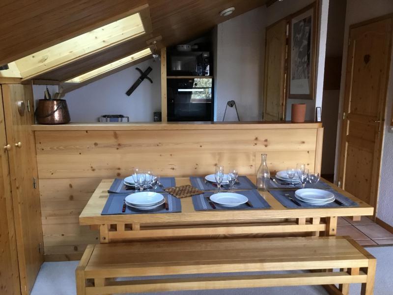 Ski verhuur Appartement 3 kamers 6 personen (A25) - Résidence Grand Dou - Méribel-Mottaret - Keuken