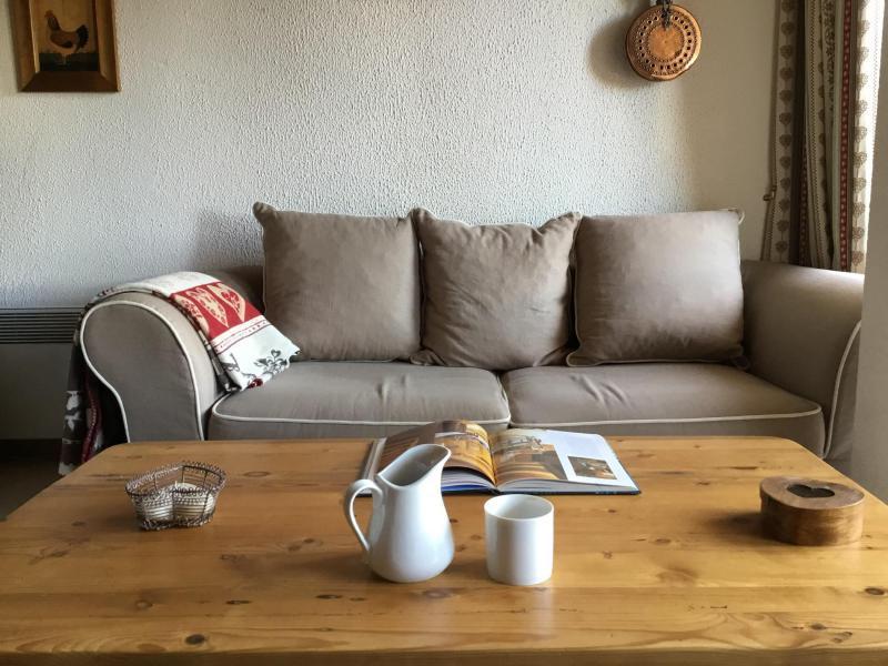 Ski verhuur Appartement 3 kamers 6 personen (A25) - Résidence Grand Dou - Méribel-Mottaret - Zitbank