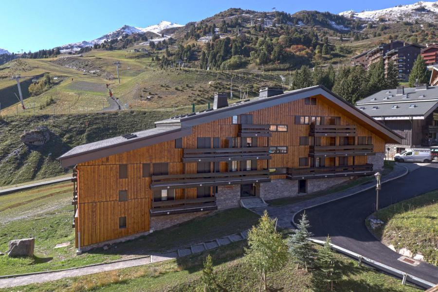 Vacances en montagne Résidence Grande Rosière - Méribel-Mottaret - Extérieur hiver