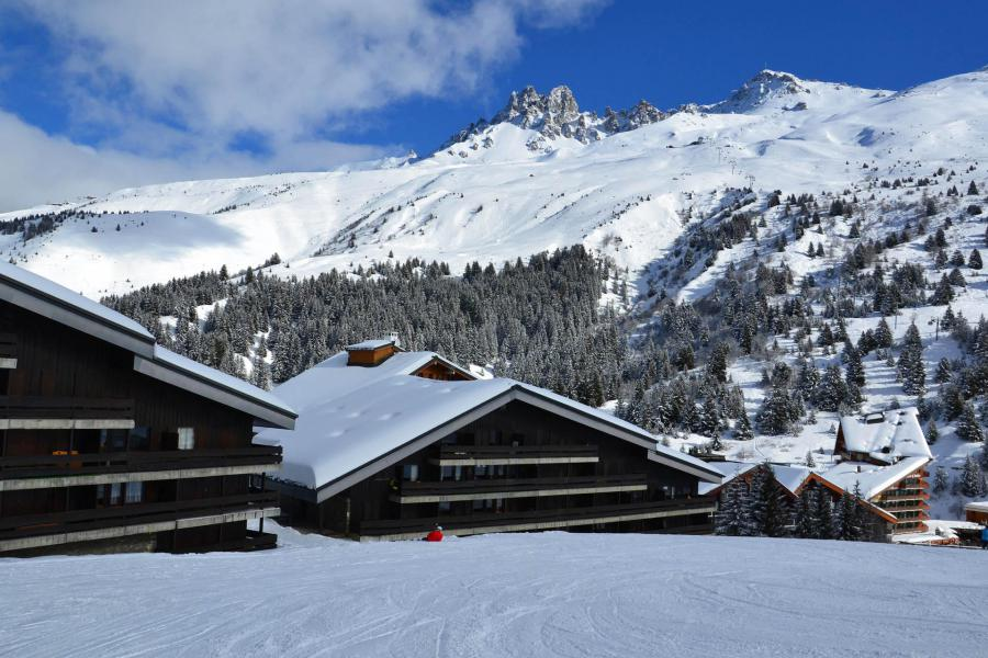 Location au ski Résidence Grande Rosière - Méribel-Mottaret - Extérieur hiver
