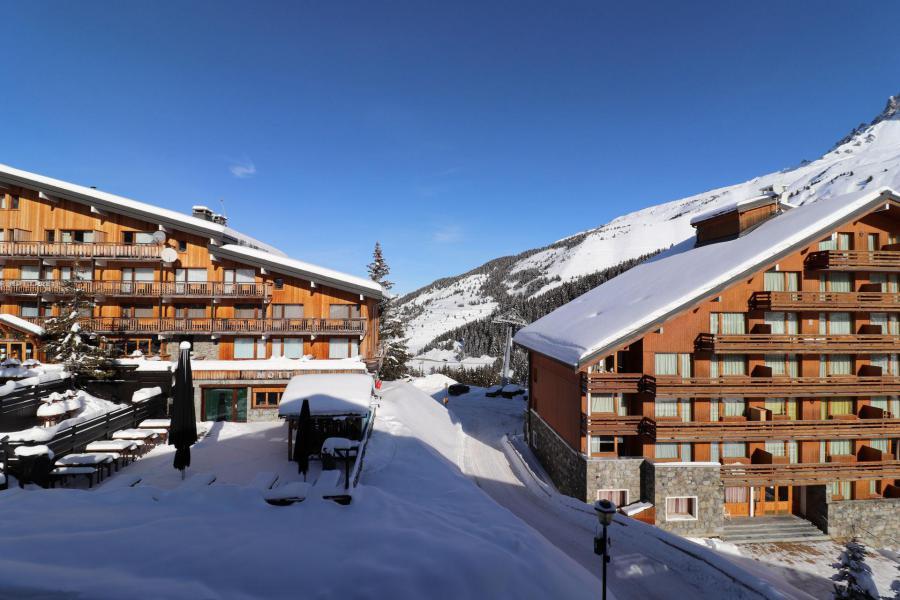 Location au ski Studio 4 personnes (27) - Résidence Grande Rosière - Méribel-Mottaret - Extérieur hiver
