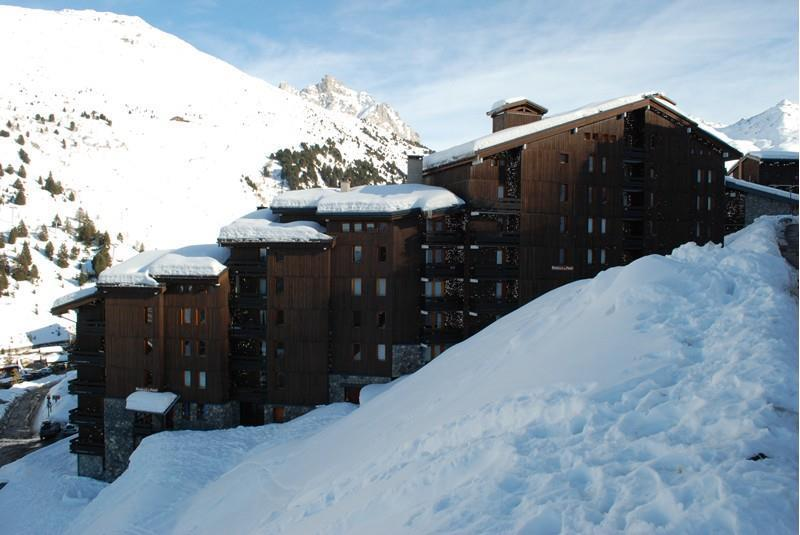 Ski verhuur Appartement 2 kamers 5 personen (08) - Résidence l'Aiguille du Fruit - Méribel-Mottaret - Buiten winter