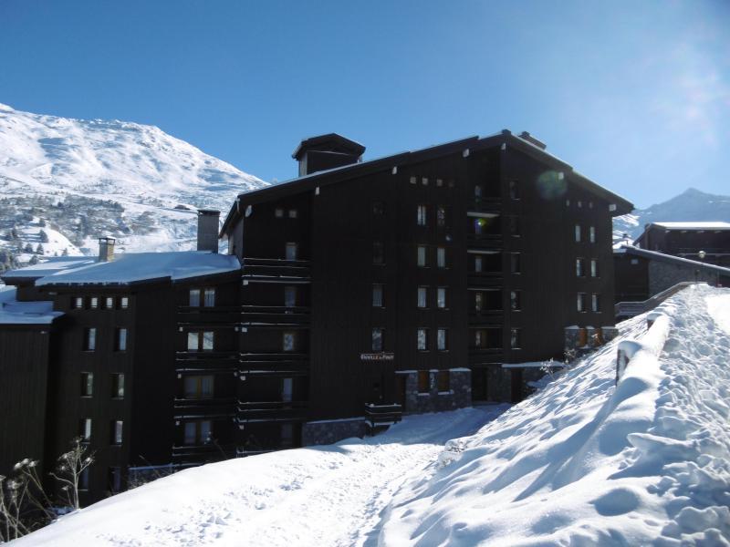 Ski verhuur Studio 4 personen (04) - Résidence l'Aiguille du Fruit - Méribel-Mottaret