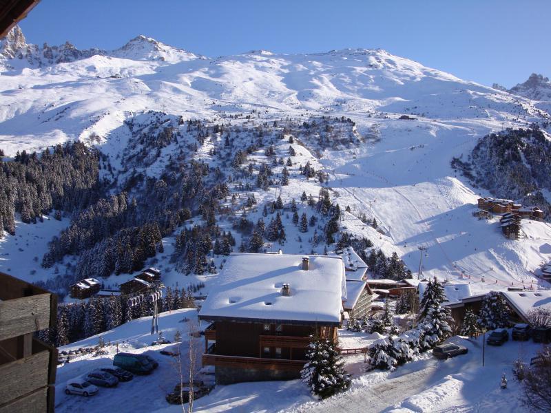 Ski verhuur Appartement 2 kamers 5 personen (08) - Résidence l'Aiguille du Fruit - Méribel-Mottaret