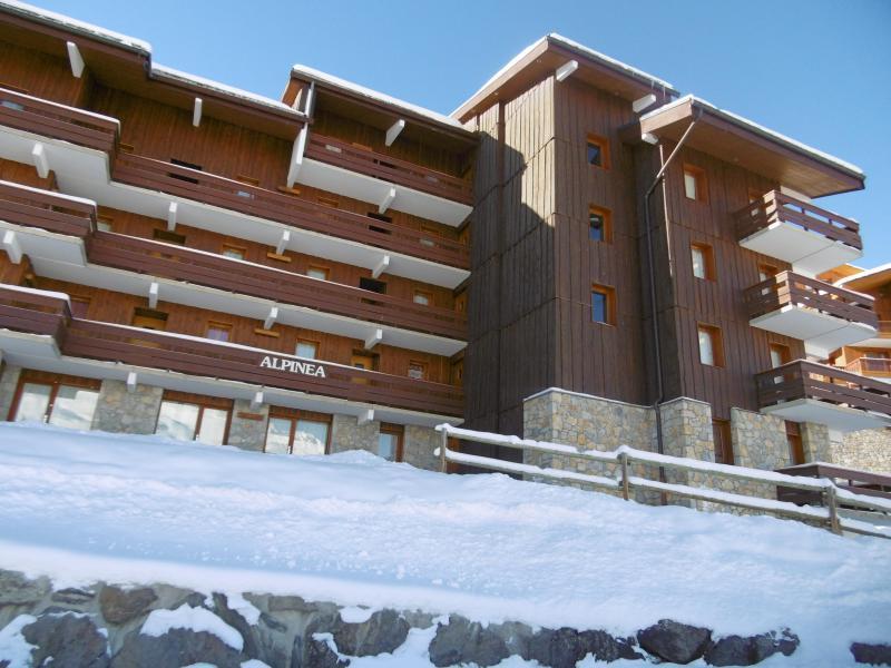 Location au ski Résidence l'Alpinéa - Méribel-Mottaret - Extérieur hiver