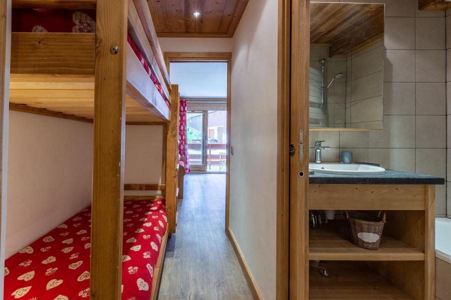 Ski verhuur Appartement 2 kamers 6 personen (C04) - Résidence l'Alpinéa - Méribel-Mottaret - Stapelbedden
