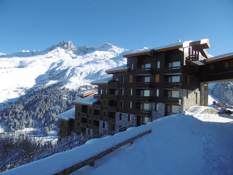 Vacances en montagne Résidence l'Arc en Ciel - Méribel-Mottaret - Extérieur hiver