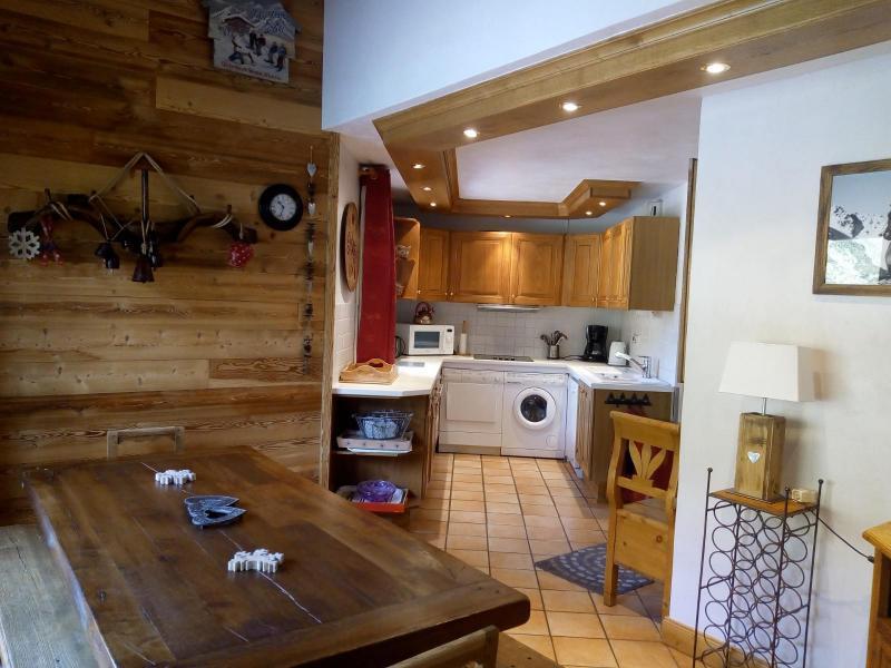 Location au ski Appartement 6 pièces 10 personnes (15C) - Résidence l'Olympie I - Méribel-Mottaret - Table