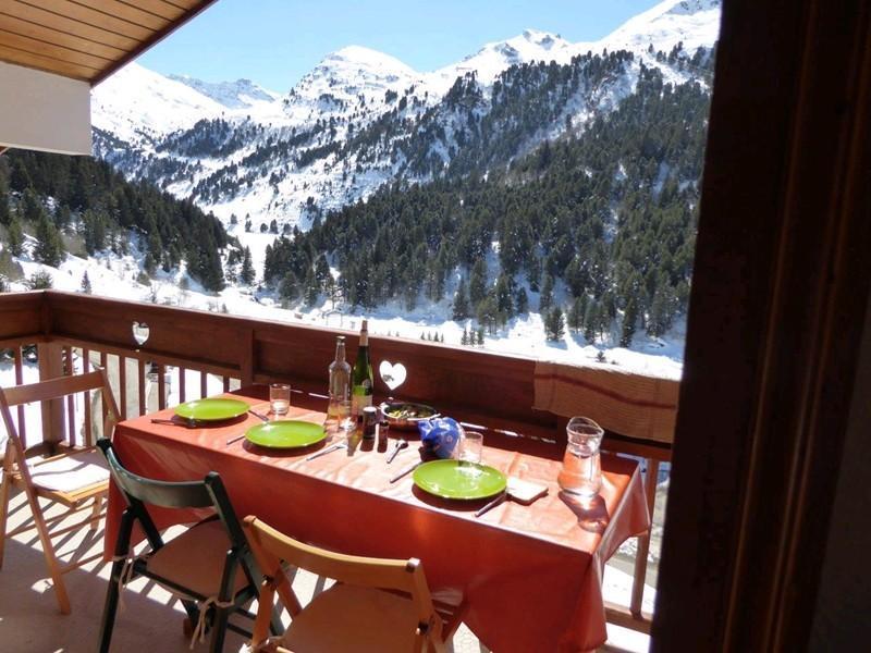 Ski verhuur Appartement 3 kabine kamers 6 personen (017) - Résidence l'Olympie II - Méribel-Mottaret - Buiten winter