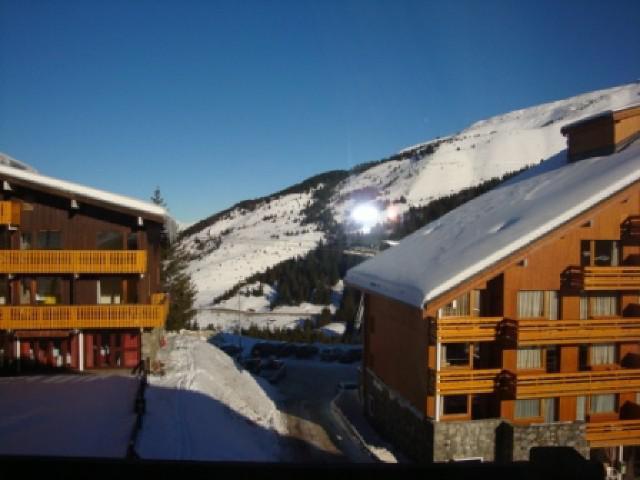 Location au ski Studio 3 personnes (019) - Résidence la Grande Rosière - Méribel-Mottaret - Extérieur hiver
