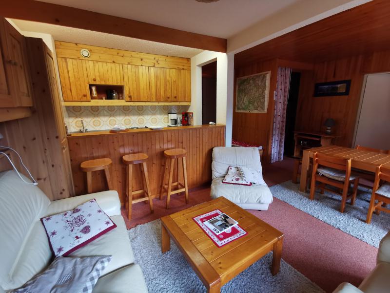 Ski verhuur Appartement 2 kamers 6 personen (015) - Résidence la Vanoise - Méribel-Mottaret