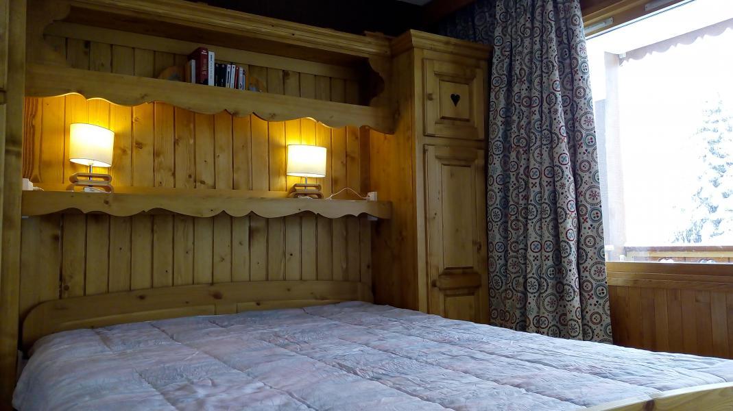 Ski verhuur Appartement 2 kamers 6 personen (015) - Résidence la Vanoise - Méribel-Mottaret - Kamer