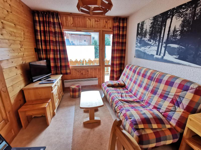 Ski verhuur Appartement 2 kamers 6 personen (041) - Résidence la Vanoise - Méribel-Mottaret - Zitbank