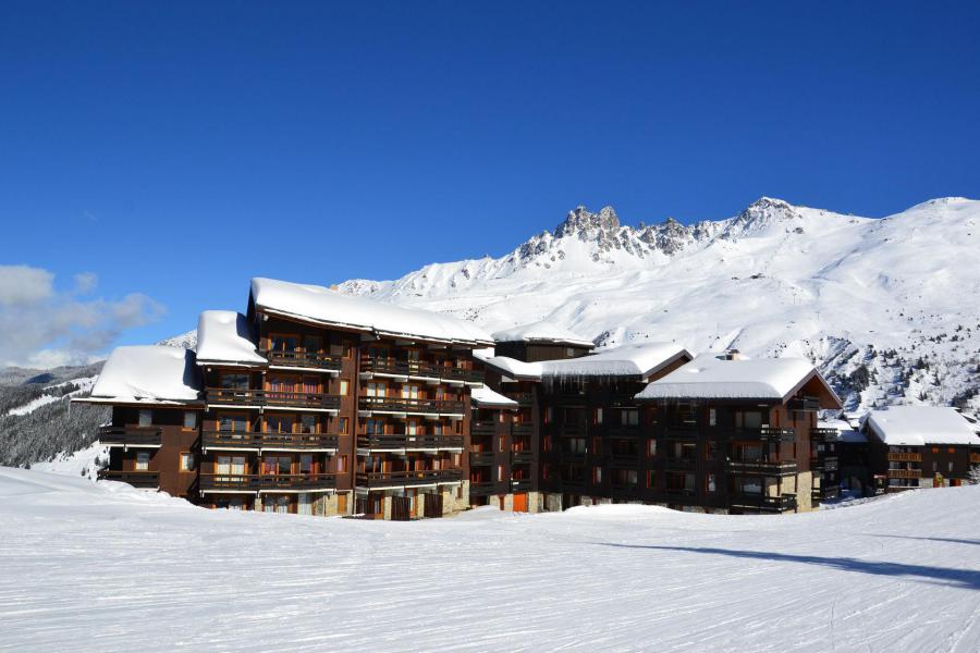 Ski verhuur Résidence Lac Blanc - Méribel-Mottaret - Buiten winter